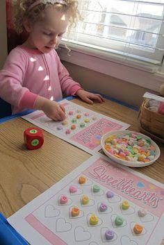 Valentine preschool ideas