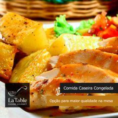 Comida Caseira congelada uma opção para maior qualidade na mesa.