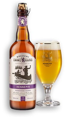 Oh man, they changed the label.  are you kidding me, a freakin' canoe!? Did they do that just for me? Now I love it even more.  Anything by Ommegang absolutely rocks.