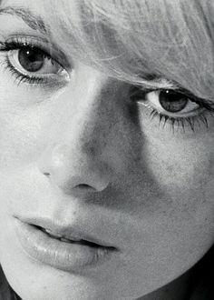 """Catherine Deneuve - Repulsion - 1965 / Fernando Pessoa - da """"Il libro dell'inquietudine"""" : """"[…] perché l'incoscienza è il fondamento della vita. Il cuore, se potesse pensare, si fermerebbe."""""""