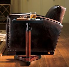 Library Leather Chair (with bourbon) $1770