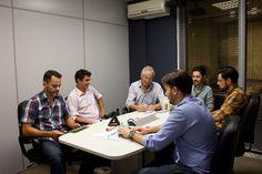 Reunião para apresentação de resultados da Laticínios Pomerode e… happy hour! www.diariodoqueijo.com.br