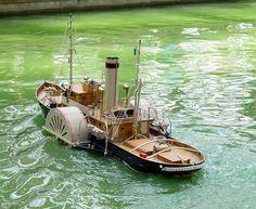 St. Louis Admirals R/C Model Boat Club - Fleet - River Workboats