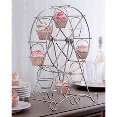 #cupcakestativ #bryllup #cupcakes #pariserhjul