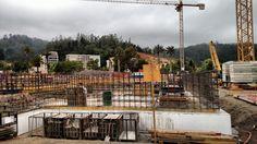 Concepción Chile LDS (Mormon) Temple Construction Photographs
