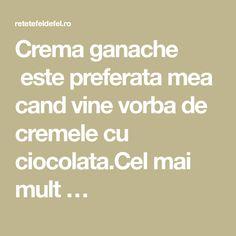 Crema ganache este preferata mea cand vine vorba de cremele cu ciocolata.Cel mai mult …