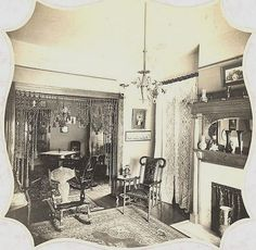 Rope Portiere, Parlor 1890's by gaswizard, via Flickr