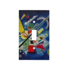 Rippling Tropical Blue Water Light Switch Cover | Zazzle.com Blue Painting, Light Painting, Glass Ceiling Lights, Water Lighting, Light Switch Covers, Invitation Cards, Art For Kids, Color Schemes, Art Pieces