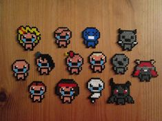Pixel Art/Perler  Binding of Isaac Rebirth  Playable