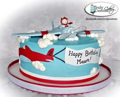 Plane Cake by Truly Custom Cakery