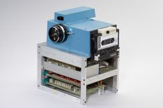 Kodak's first digital, film-less camera invented by Steve Sasson in 1975