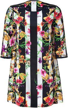 Love this: Adorned Fall Stripe Silk Trellis Dress  JUICY COUTURE  dressmesweetiedarling