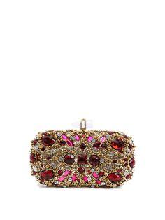 #AdoreWe #StyleWe Bags - RADISH Golden Evening Push Lock Clutch - AdoreWe.net