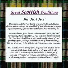 93 best hogmanay and scottish new year images on pinterest the first foot i think this applies to the new year celebration in m4hsunfo
