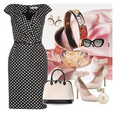 """""""Untitled #128"""" by zako14 on Polyvore featuring Christian Dior, Kate Spade, Aspinal of London, LE VIAN, Estée Lauder, women's clothing, women, female, woman and misses"""