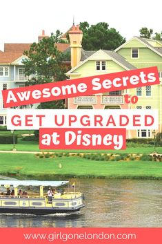 There's nothing more awesome than getting upgraded at Disney World. Enjoy this resource on how to get upgraded at Disney World resorts to get your own slice of pixie dust. Disney Vacation Club, Disney Vacation Planning, Disney Vacations, Disney Trips, Disney Travel, Disney World Hotels, Disney World Resorts, Hotels And Resorts, Walt Disney World