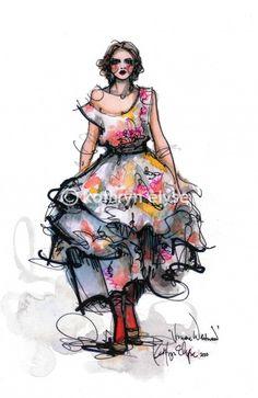 fashion.illustration: vivienne westwood