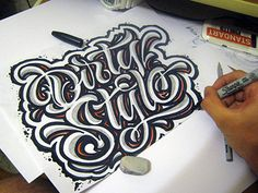 sketch Dirty Stylе