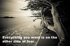 Don't let your fear block your blessings!