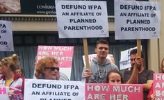 Hundreds of Pro-Lifers in Dublin Call for Irish Planned Parenthood to be De-Funded