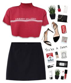 """""""my dreams running into your dreams, it's as if we wished on the same star"""" by silvanacavero on Polyvore featuring Zara, Ferrari, Lux-Art Silks, Michael Kors, Stila, OPI, NARS Cosmetics, Diptyque and Chanel"""