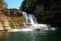 Cachoeira Cummins - Tennessee – EUA