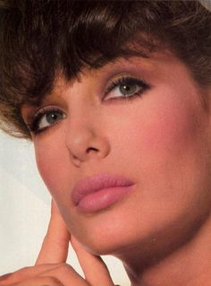 """""""New Direction In Beauty"""", Vogue US, October 1981 Photographer : Irving Penn Model : Kelly LeBrock #80smakeup Uploaded by 80s-90s-supermodels.tumblr.com"""