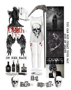 """""""Creepypasta Oc #8 The Fallen Angel"""" by pastelgothprincess27 ❤ liked on Polyvore featuring H&M and Vans"""