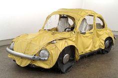 BEETLE ART - 'Vocho' by Margarita Cabrera http://www.margaritacabrera.com/