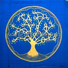 """L'Arbre de la Vida - La Creatividad es una actitud ante la vida, un acto poético ante la existencia. Tanto la Creatividad como la Meditación son estados creativos de la mente que se nutren de la misma fuente; ambas son agentes transformadores del carácter y de la conciencia que se compensan y enriquecen mutuamente.  """"Los Chakras – Mandalas de energia"""" de Tat Estrada. Edit. mtm"""