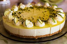 Einfache Zitronen - Joghurt - Torte