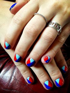 Nails for Demi Lovato for the after party at the Brits