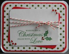 Created by Helen - using Candy Cane Trendy Twine.