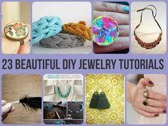 23 Beautiful DIY Jewelry Tutorials