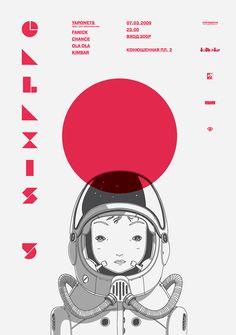 """REFERENTES: Diseño Gráfico + Ilustración + Personajes + Cascos #astrocosmonaut """"Galaxis 5"""""""