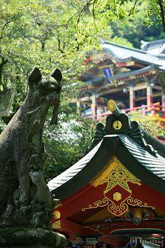 Yutoku Inari Shrine  Kashima city, Saga, Japan.