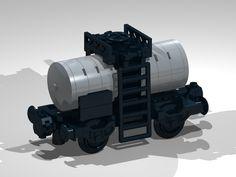 4-Wheel Tank Wagon (short)