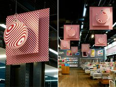 Prop Studios for Tate Modern | In-store VM of Gift Shop | #TateModern #Design #Retail #VM #Christmas #Retail #RetailInteriors #Banners #Christmas #Exhibtion