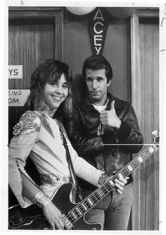 Suzi Quatro as Leather Tuscadero.