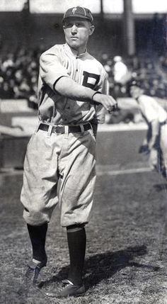 Dave Bancroft with the Philadelphia Phillies, c.1918 - BL-79-74 (National Baseball Hall of Fame Library)