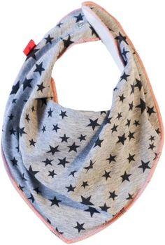 MOLO melange small stars bandana bib