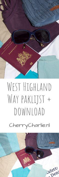West Highland Way: Paklijst West Highland Way, Ben Nevis, Lifestyle Blog