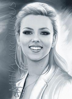 Scarlett Johansson by Mitia_Arcturus