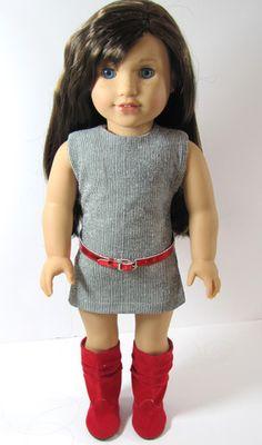 Trendy Sheath Dress for American Girl Doll – Avanna Girl