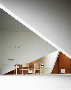 Group Home in Noboribetsu / Sou Fujimoto -- it's a work of op art.