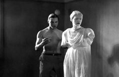 Enrique Rivero and Lee Miller in 'The Blood of a Poet' (Le sang d'un poète), directed by Jean Cocteau The Best Films, Great Movies, The English Patient, Lee Miller, Jean Cocteau, Roman History, Man Ray, Love Movie, Movie Scene