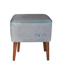 pufa Mr. M szara - Pufy, stołki, podnóżki - Trendsetterka.com
