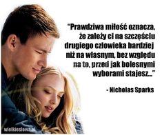 Prawdziwa miłość oznacza, że zależy ci...