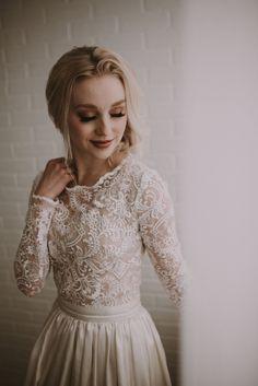 Wedding Bells, Wedding Events, Wedding Gowns, Weddings, Lace Wedding, Wedding Themes, Gothic Wedding, Modest Wedding, Wedding Favors