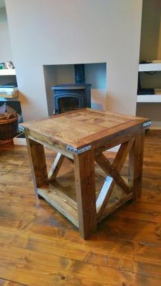 Rustic (Kind of) Side table | Do It Yourself Home Projects from Ana White
